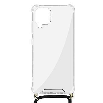 Cover Lanyard for Samsung Galaxy A42 5G Flexible Neck Strap Clear