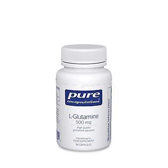 Pure Encapsulations l-Glutamine 500mg Capsules 90 (LG59UK)