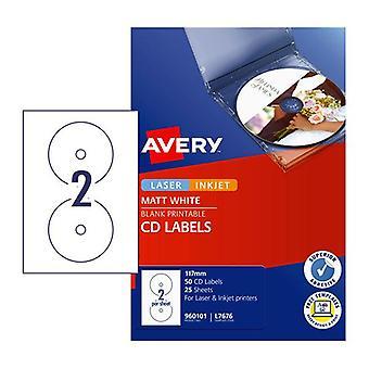 Avery Lip Label L7676 Box Of 50