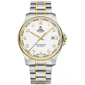 Reloj suizo military by chrono Gold stainless steel SM30200.20 para hombre