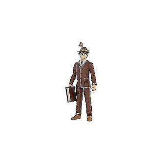 Video game consoles action figure: dc heroes - bookworm toy figure