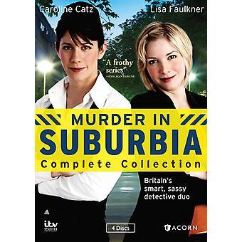 Mord i Suburbia komplett samling [DVD] USA import
