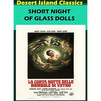 Short Night of Glass Dolls [DVD] USA import