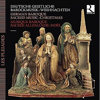 German Baroque Sacred Music-Christmas - German Baroque Sacred Music-Christmas [CD] USA import