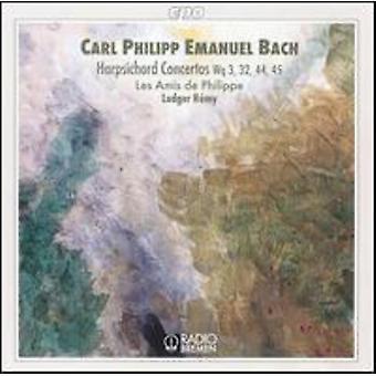 C.P.E. Bach - C.P.E. Bach: Concertos pour clavecin, Wq 3, 32, 44, 45 [CD] USA import