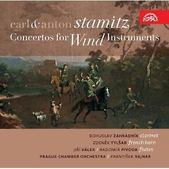 Carl Stamitz & Anton - Carl & Anton Stamitz: Concertos for Wind Instruments [CD] USA import