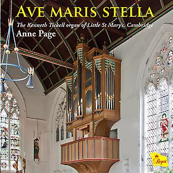 Anne Page - Ave Maris Stella [CD] USA import