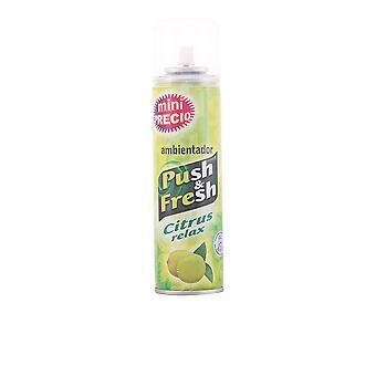 Empuje y empuje fresco y fresco Ambientador Spray #citrus relajación 200 Ml Unisex