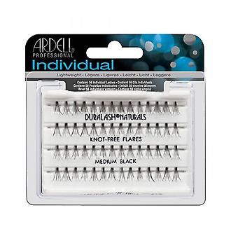 Ardell Professional Ardell Individual Eyelashes Knotfree Flares Medium Black