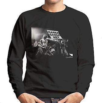 ラモーンズ ガバガバちょっとマンチェスター アポロ 1977 メンズ トレーナー