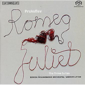 Bergen Philharmonisch Orkest - Prokofjev: Romeo & Juliet, de drie Suites [SACD] USA importeren