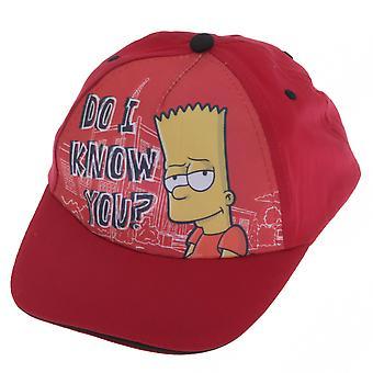 الأولاد الأولاد بارت سيمبسون قبعة بيسبول
