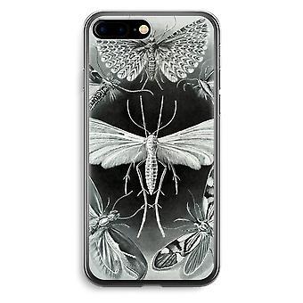 iPhone 7 Plus transparant Case (Soft) - Haeckel Tineida