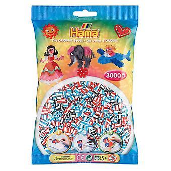 Hama Perlen - 3000 Perlen gestreift