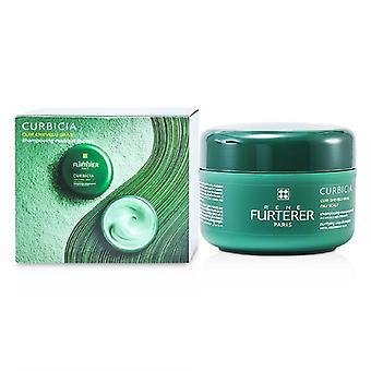 Rene Furterer Curbicia purifying Clay shampoo (couro cabeludo oleoso)-200ml/7.2 oz