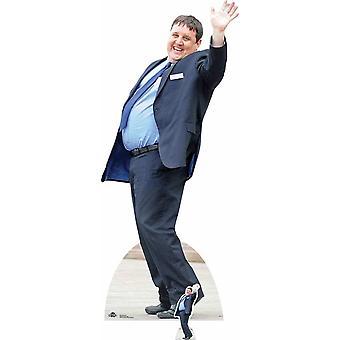 Peter Kay Lifesize carton découpe / voyageur debout / stand-up