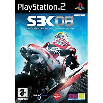 SBK-08 World Superbike 2008 (PS2) - Ny fabrik förseglad