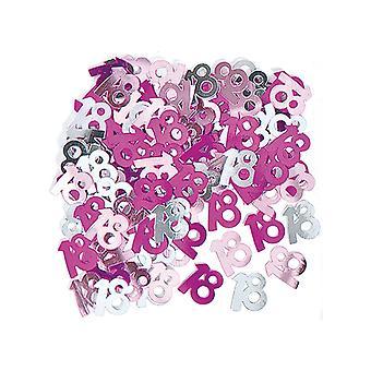 Birthday Glitz Pink - 18th Birthday Confetti