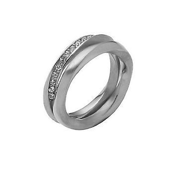 DKNY dames ring RVS NJ1603040