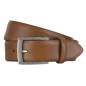 Cinturones de cinturón cinturones de hombres LLOYD de cuero Cognac correa 6606