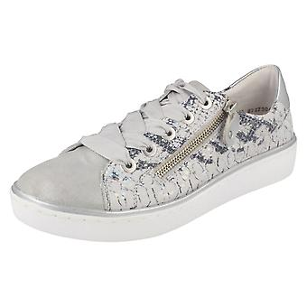 Dames Casual Remonte Lace Up Trainers