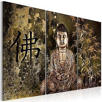 Canvas Print - Buddha statue