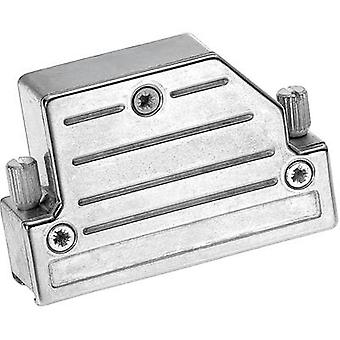 Provertha 4725DC25001 4725DC25001 D-SUB housing Number of pins: 25 Metal 45 ° Silver 1 pc(s)