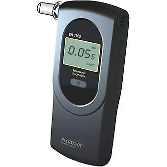 ACE DA-7100 Breathalyser 0 up to 5 ‰ Incl. display