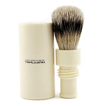 Truefitt & Hill Turnback Traveler Badger Hair Shave Brush - # Ivory - 1pc