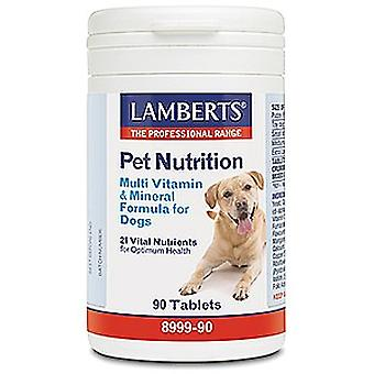 Lamberts Multi Vitamin and Mineral for Dogs 90 tablets
