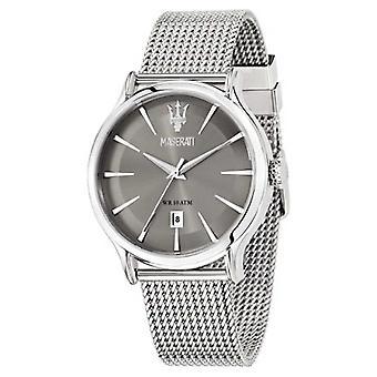 Maserati Epoca 42mm Gray Dial | Steel Mesh Bracelet | R8853118002 Watch