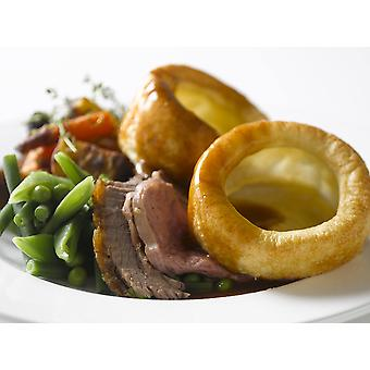 Country Range Frozen Baked Yorkshire Puddings 8cm