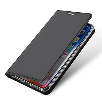 Funda DUX DUCIS Pro Series iPhone XR-Dark Gray