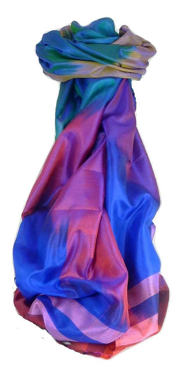 Varanasi Ekal Premium Silk Long Scarf Heritage Range Narayan 2 by Pashmina & Silk