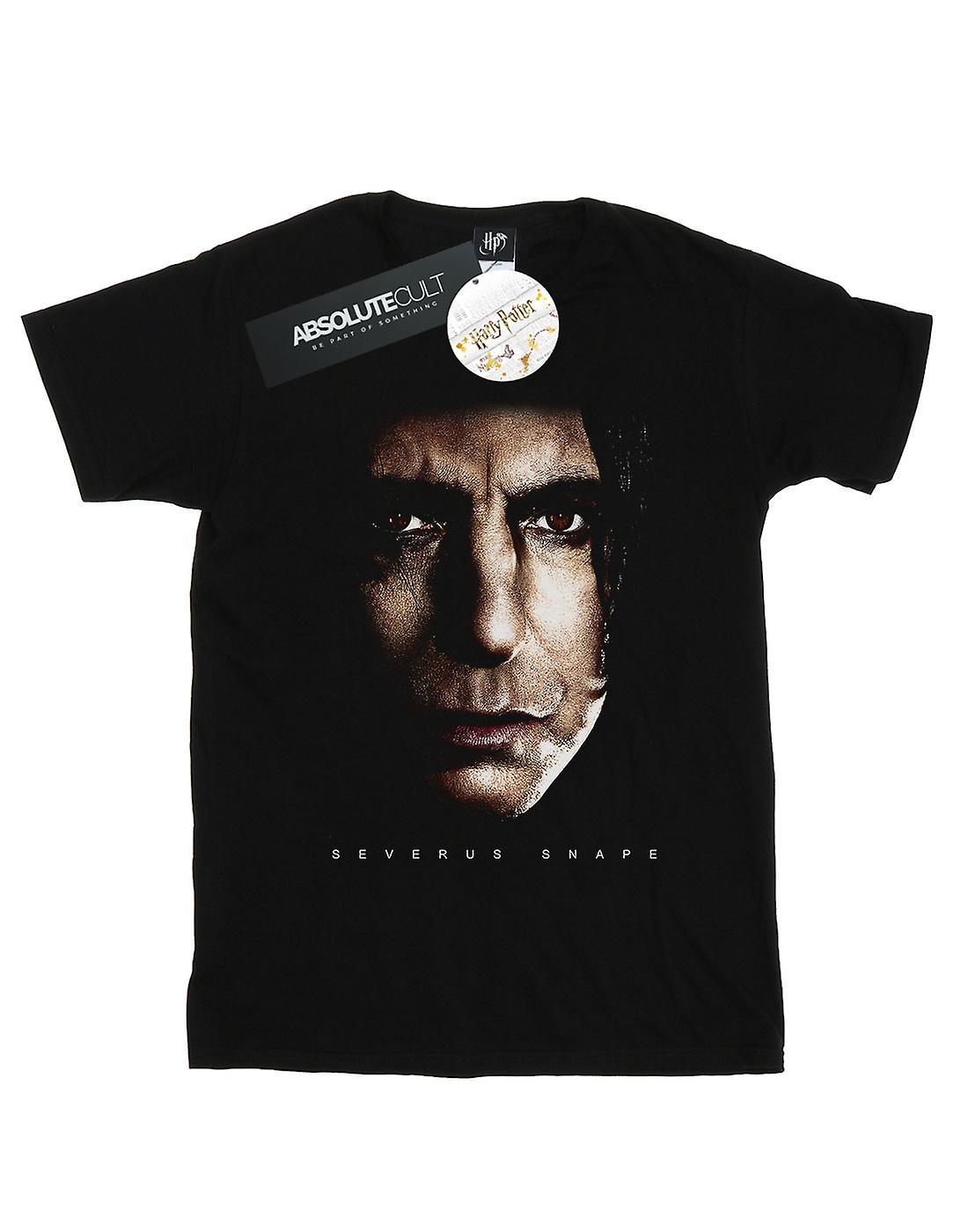 Harry Potter Women's Severus Snape Portrait Boyfriend Fit T-Shirt