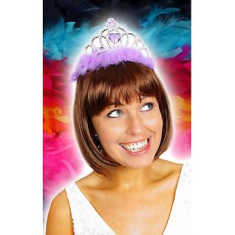 Haarschmuck Diadem mit lila Akzenten