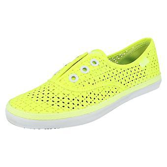 Ladies Keds Canvas Shoes Rookie Lcelss