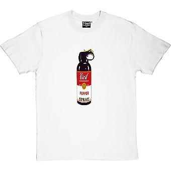 Civil olydnad peppar Spray mäns T-Shirt