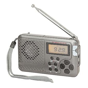 TechBrands Multiband FM/MW/SW Pocket wekker Radio