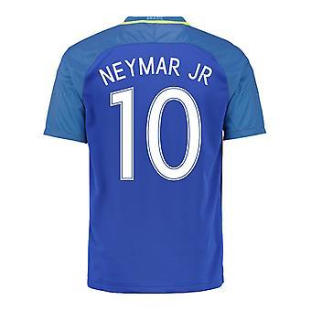 2016-17 Brazilië weg Shirt (Neymar JR 10)
