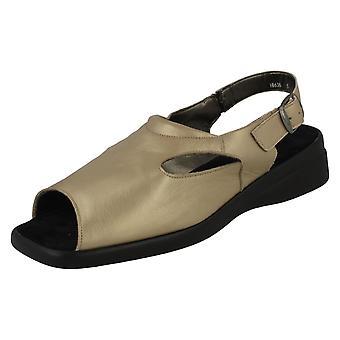 Ladies Nil Simile Narrow Fitting Leather Sandal Dorset
