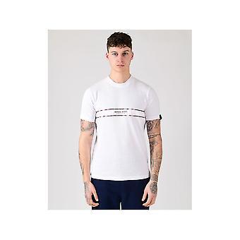 MARSHALL ARTIST White Casa Check T-shirt