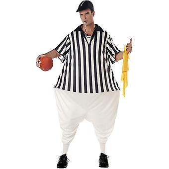 Komische Schiedsrichter Kostüm