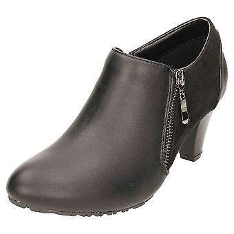 Comfort Plus Wide E Fitting Heeled Ankle Trouser Boots