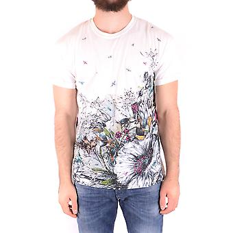 Mcq By Alexander Mcqueen Ezbc053063 Men's White Cotton T-shirt