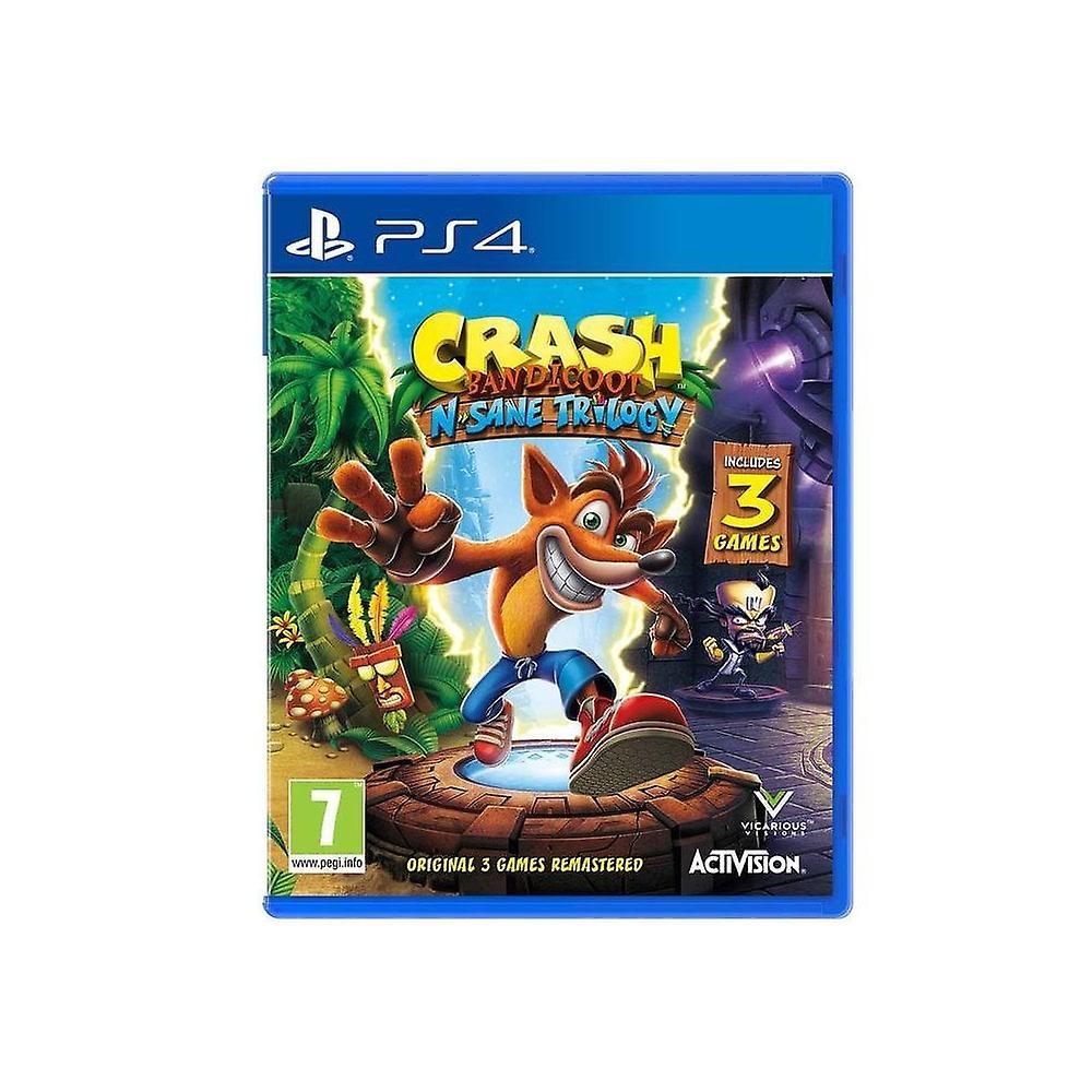 Crash Bandicoot N.Sane Trilogy PS4