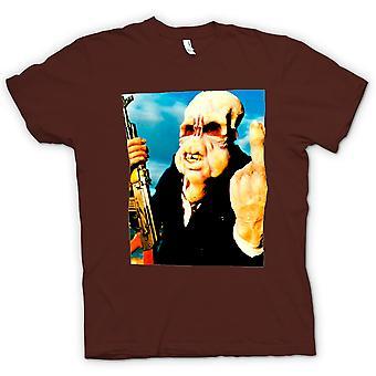 Herr T-shirt-dålig smak - kult - skräck