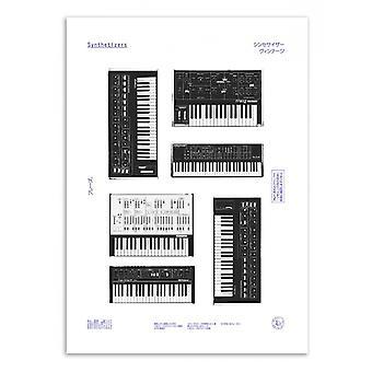 Art-Poster - Synths - Florent Bodart