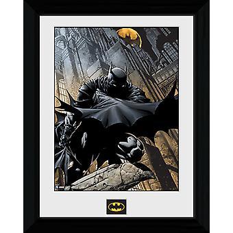 Batman Stalker indrammet Collector Print 40x30cm