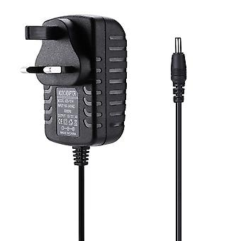 REYTID Replacement Mains Charger Compatible with Amazon Echo Dot (3rd Gen), Echo Show 5 and Fire TV Cube - 1.8m - Alexa Speaker Plug Power Lead - Black